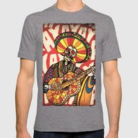 Mariachi Mens Fitted Tee Tri-Grey SMALL