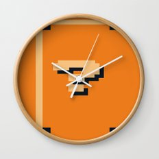 Minimalist Question Block Wall Clock