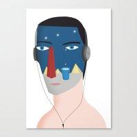 Orione Canvas Print