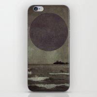 Purple storm iPhone & iPod Skin