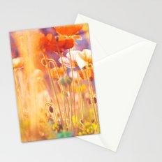 I am Alice. poppy flowers photograph Stationery Cards
