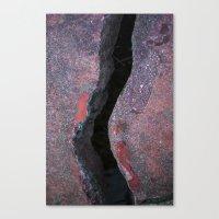 Cracked Bridge Canvas Print