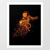 Close to sun Art Print