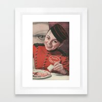 Lobby Boy Framed Art Print