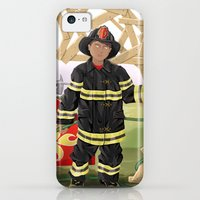 iPhone 5c Cases featuring Pyro by Jeremy Stout