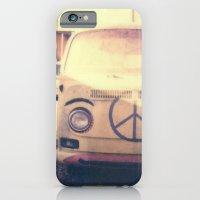 Happy VW Van Polaroid iPhone 6 Slim Case