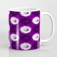 Sunflower Black, White A… Mug