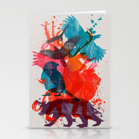 It's A Wild Thing Stationery Card