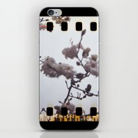 blooming sprockets iPhone & iPod Skin