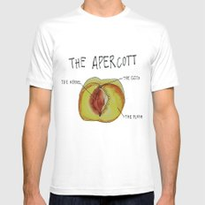 THE APERCOTT Mens Fitted Tee White SMALL