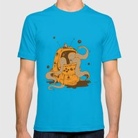 Nintendo is fun Mens Fitted Tee Teal SMALL