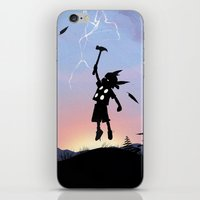 Thor Kid iPhone & iPod Skin