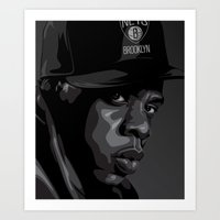 Mr. Carter Art Print