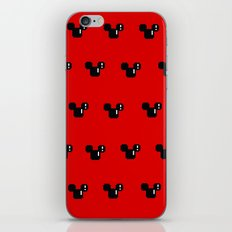 8 Bit Mouse Pattern iPhone & iPod Skin