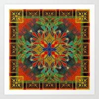 Mandala #10 Art Print