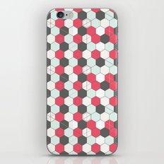Hexagons Pattern iPhone & iPod Skin