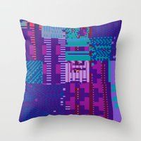 Taintedcanvas98 Throw Pillow