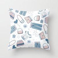 FASHION BUNNY Throw Pillow