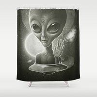 Alien II Shower Curtain