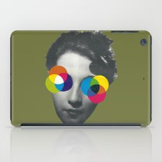 Psychedelic glasses iPad Case