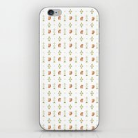 forest Foxes iPhone & iPod Skin
