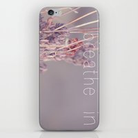 Breathe In iPhone & iPod Skin