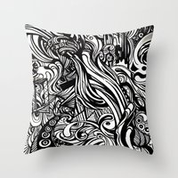 REM 4 Throw Pillow