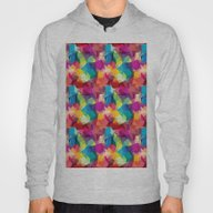 Abstract Colorful Patte… Hoody
