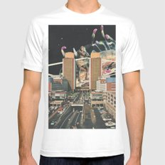 From Rome to Rio Mens Fitted Tee SMALL White