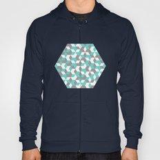 Hexagon(blue) #1 Hoody