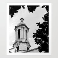 Penn State Old Main #2 Art Print