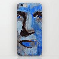 Blue Man iPhone & iPod Skin