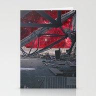 SPACE DEVASTATION Stationery Cards