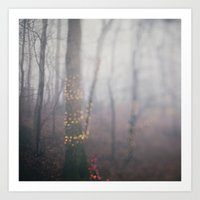 Foggy Holiday Art Print