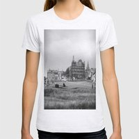 St. Andrews Womens Fitted Tee Ash Grey SMALL