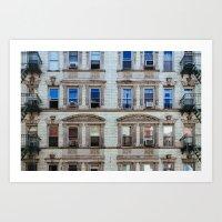 New York Windows Art Print