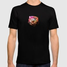 Flower in the Dark Mens Fitted Tee Black SMALL