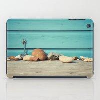 Beach Hut Stones iPad Case