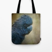 Black Cockatoo No 2 Tote Bag