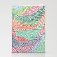 Color Filled In  Stationery Cards