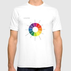 A Visual Study of Sherlock Mens Fitted Tee White SMALL