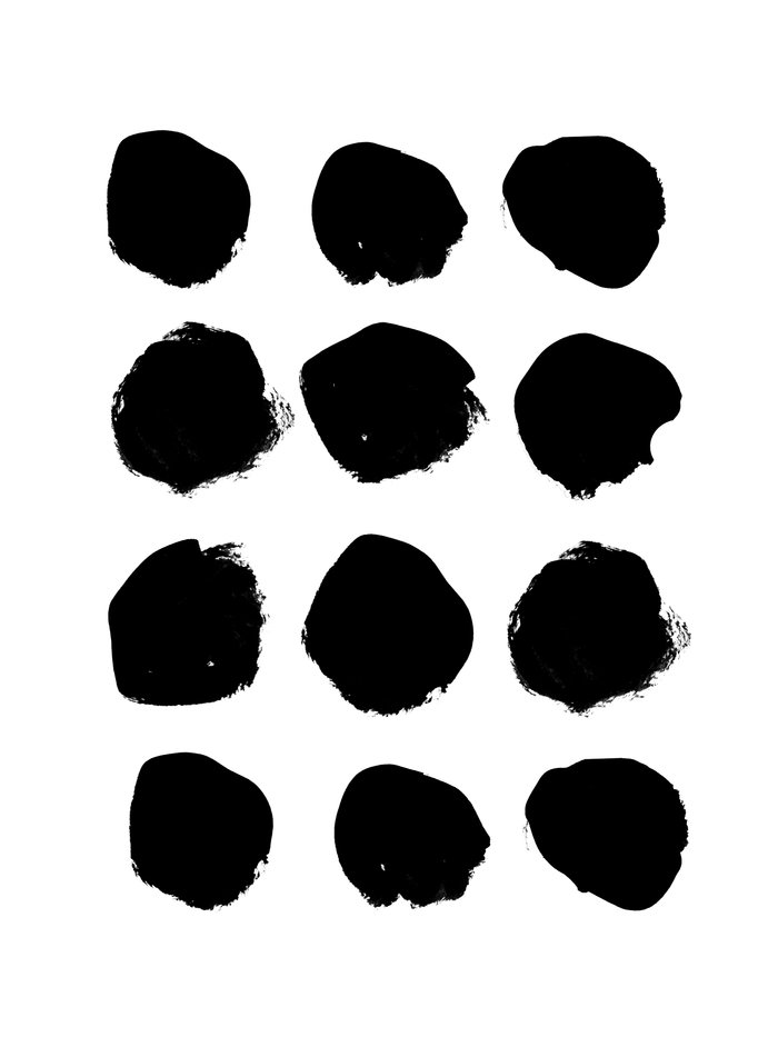 Florence - black and white minimal modern abstract home ...