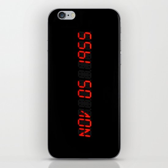 Nov 05 1955 - Back to the future iPhone & iPod Skin
