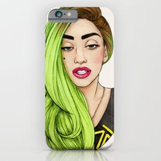 Lady Neon iPhone 6 Slim Case