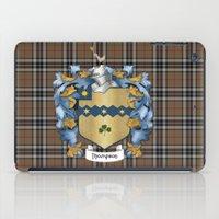 Thompson Crest And Tarta… iPad Case
