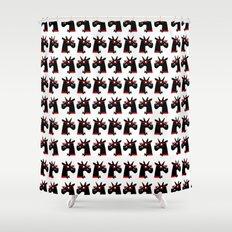 Bright Unicorns Shower Curtain