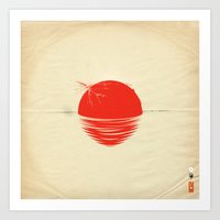 Japan Relief Poster/all … Art Print
