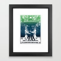 Detroit Zoo Framed Art Print