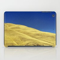 golden hillside iPad Case