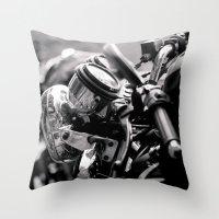 moto Throw Pillow